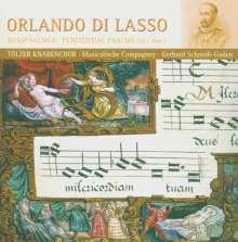 "Orlando di Lasso (Lassus) (1532-1594): Psalmi penitentialis ""Bußpsalmen"" Vol.2, CD"