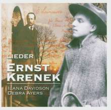 Ernst Krenek (1900-1991): Lieder, CD