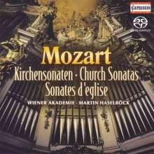 Wolfgang Amadeus Mozart (1756-1791): Kirchensonaten für Orgel & Orchester Nr.1-17, SACD