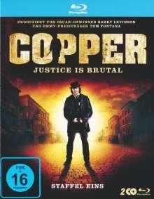 Copper Season 1 (Blu-ray), 2 Blu-ray Discs