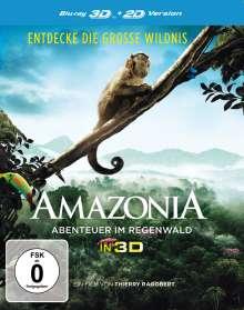Amazonia (3D Blu-ray), Blu-ray Disc
