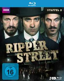 Ripper Street Staffel 2 (Blu-ray), 2 Blu-ray Discs