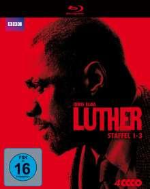 Luther Staffel 1-3 (Blu-ray), 4 Blu-ray Discs