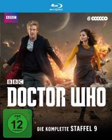 Doctor Who Season 9 (Blu-ray), 6 Blu-ray Discs