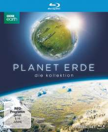 Planet Erde - Die Kollektion (Limited Edition im edlen Bookpak) (Blu-ray), 7 Blu-ray Discs