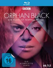 Orphan Black (Komplette Serie) (Blu-ray), 10 Blu-ray Discs