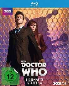 Doctor Who Season 4 (Blu-ray), 3 Blu-ray Discs