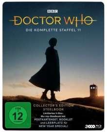 Doctor Who Staffel 11 (Collector's Edition) (Blu-ray im Steelbook), 3 Blu-ray Discs