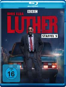 Luther Staffel 5 (Blu-ray), Blu-ray Disc