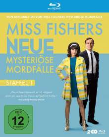 Miss Fishers neue mysteriöse Mordfälle Staffel 1 (Blu-ray), 2 Blu-ray Discs