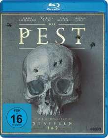 Die Pest Staffel 1 & 2 (Blu-ray), 4 Blu-ray Discs