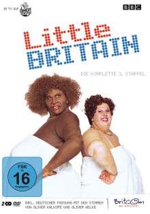 Little Britain Staffel 3, 2 DVDs
