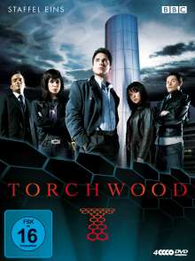 Torchwood Staffel 1, 4 DVDs