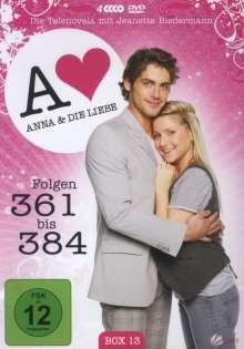 Anna und die Liebe Vol.13, 4 DVDs