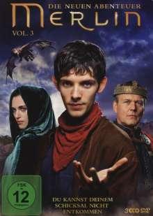 Merlin: Die neuen Abenteuer Season 2 Box 1 (Vol.3), 3 DVDs