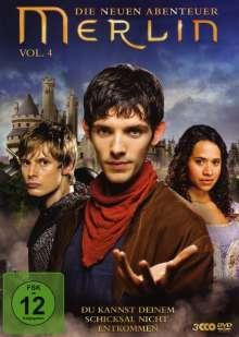 Merlin: Die neuen Abenteuer Season 2 Box 2 (Vol.4), 3 DVDs