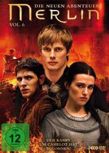 Merlin: Die neuen Abenteuer Season 3 Box 2 (Vol.6), 3 DVDs