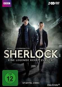Sherlock Staffel 2, 2 DVDs