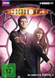 Doctor Who Season 4, 6 DVDs