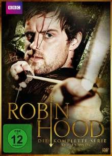 Robin Hood (2006-2009) (Komplette Serie), 15 DVDs