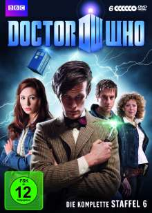 Doctor Who Season 6, 6 DVDs