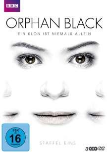 Orphan Black Staffel 1, 3 DVDs
