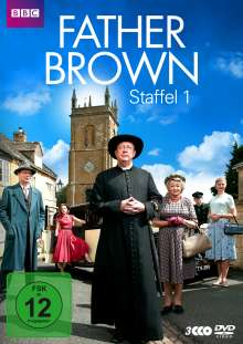 Father Brown Staffel 1, 3 DVDs