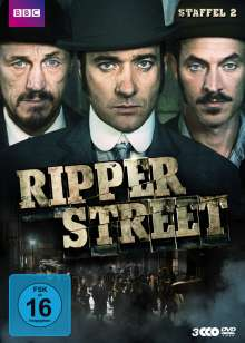Ripper Street Staffel 2, 3 DVDs