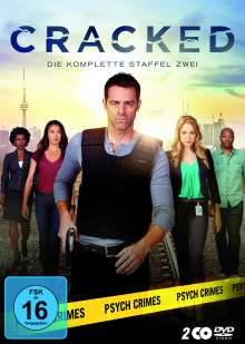 Cracked Season 2, 2 DVDs