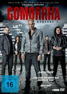 Gomorrha Staffel 1, 5 DVDs