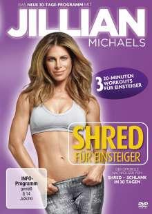 Jillian Michaels - Shred für Einsteiger, DVD