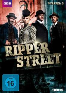 Ripper Street Staffel 3, 3 DVDs
