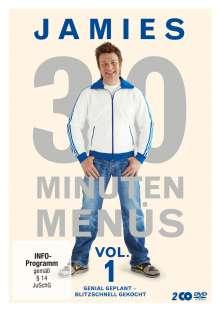 Jamies 30 Minuten Menüs Vol. 1, 2 DVDs