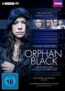 Orphan Black Staffel 1 & 2, 6 DVDs