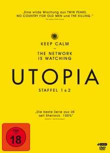 Utopia Staffel 1 & 2, 4 DVDs