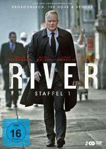 River Staffel 1, 2 DVDs