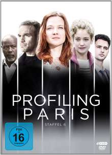 Profiling Paris Staffel 6, 4 DVDs