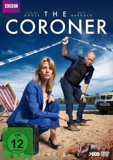 The Coroner Staffel 2, 3 DVDs