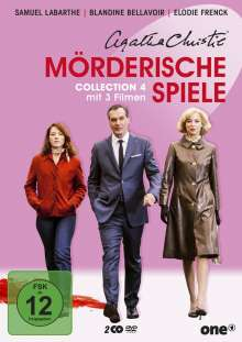 Agatha Christie: Mörderische Spiele Collection 4, 2 DVDs