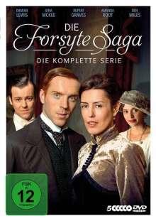 Die Forsyte Saga (2002) (Komplette Serie), 5 DVDs