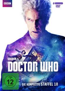 Doctor Who Staffel 10, 6 DVDs
