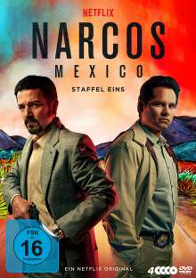 Narcos: Mexico Staffel 1, 4 DVDs