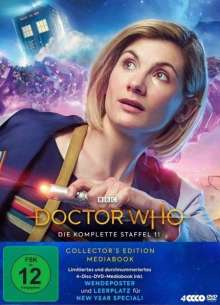 Doctor Who Staffel 11 (Collector's Edition) (Mediabook), 4 DVDs