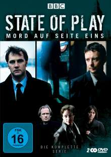 State of Play - Mord auf Seite eins (Komplette Serie), 2 DVDs