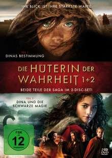 Die Hüterin der Wahrheit 1 & 2, 2 DVDs