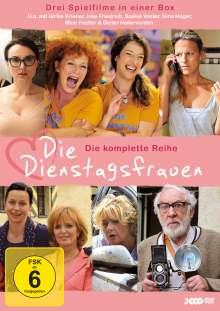 Die Dienstagsfrauen - Die komplette Reihe, 3 DVDs