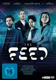 The Feed (Komplette Serie), 4 DVDs