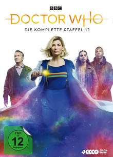 Doctor Who Staffel 12, 4 DVDs