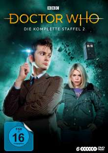 Doctor Who Staffel 2, 6 DVDs