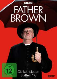 Father Brown Staffel 1-3, 10 DVDs